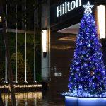 聖誕佈置-希爾頓飯店